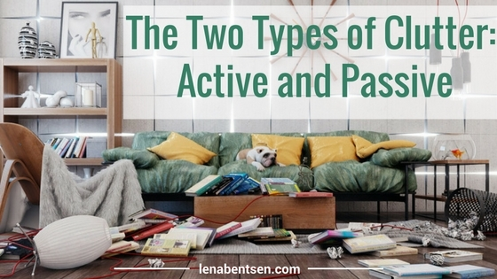 The Two Types of Clutter: Active and Passive