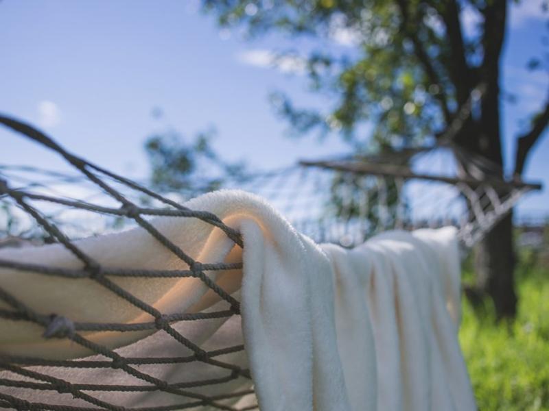 spring hygge hammock